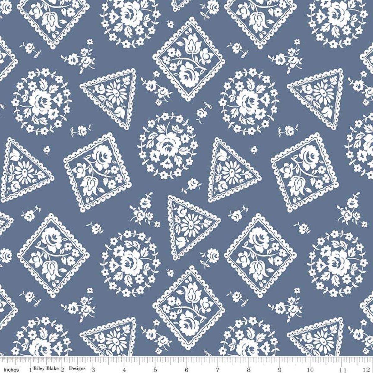 Majestic Stamp Blue - c8143