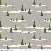 Winterberry Trees Gray