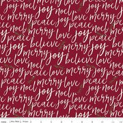 Winterberry Text Red