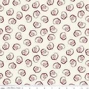 Winterberry Santa Heads Cream