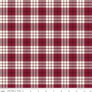 Winterberry Plaid Red