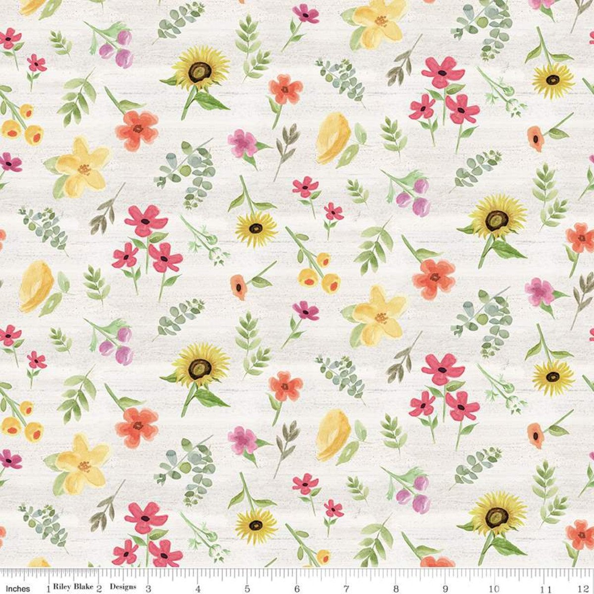 Homestead Life Flowers C9451-Cream