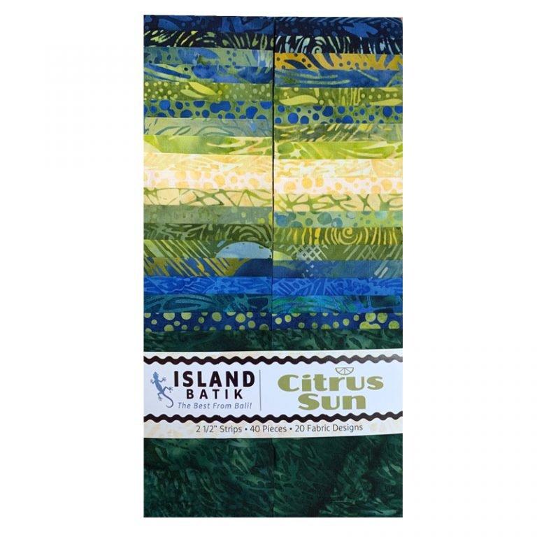 Island Batik 2.5 strips - Citrus Sun