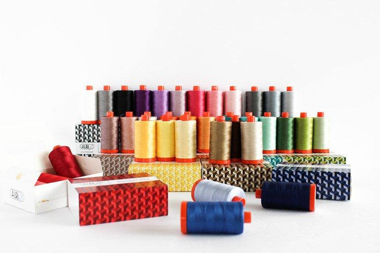 Aurifil Color Builders 2020 Thread Club
