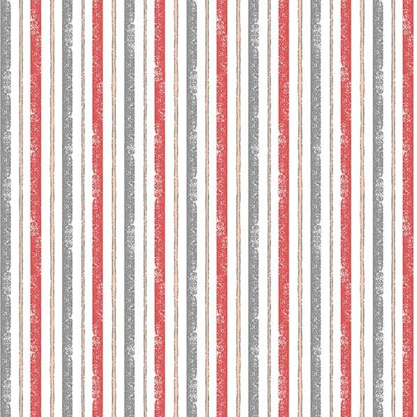La Parisienne - Seine Stripe Red CX9221-REDX-D