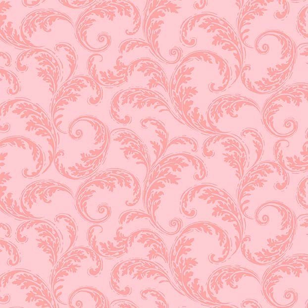 La Parisienne - French Scroll Pink CX9224-PINK-D
