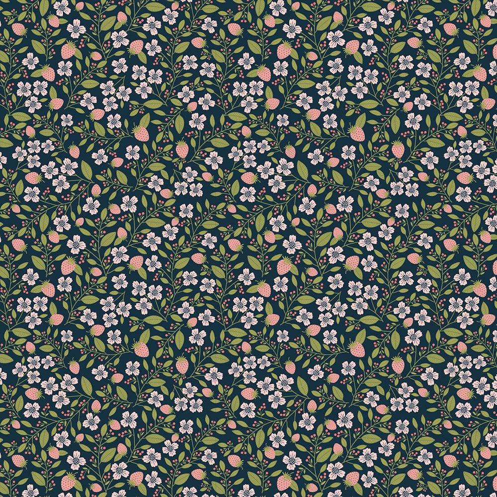 Daisy Mae Berry Blossoms Navy DM20120