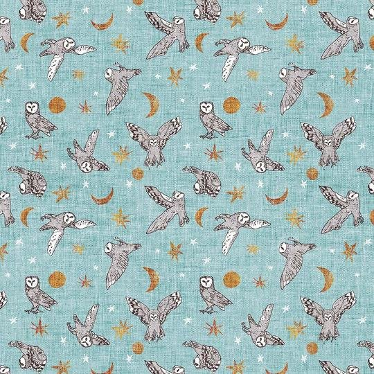 FOREST FABLE BLUE MULTI DP90348-40