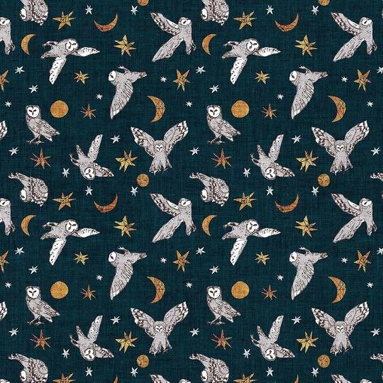 FOREST FABLE NAVY MULTI DP90348-49