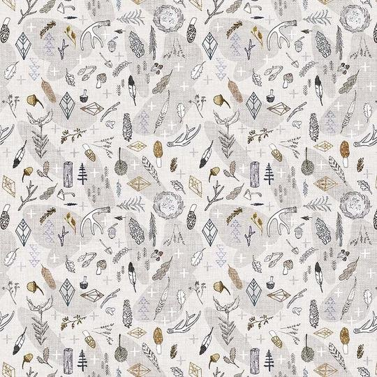 FOREST FABLE TAUPE MULTI DP90349-12