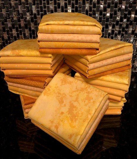 Gold Fat Quarter Bundle