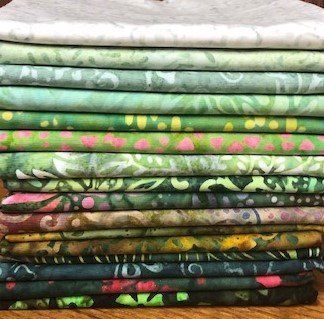 Java Batiks Green Bundle
