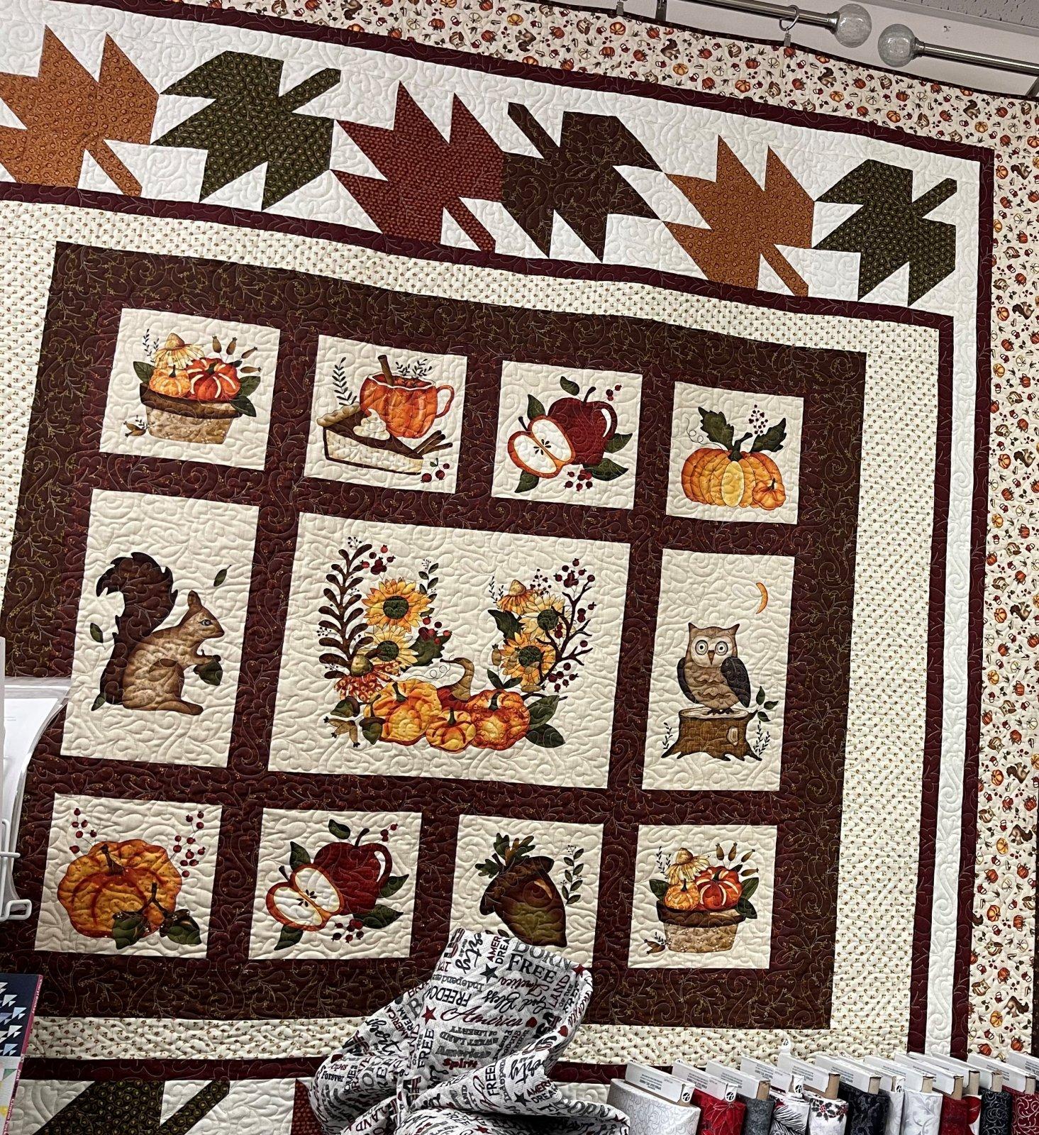 Hello Fall Panel Kit - 67 x 76