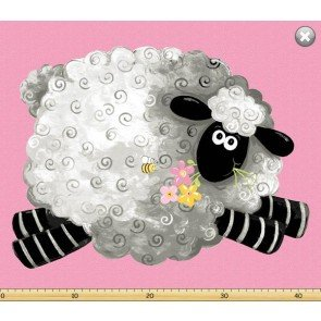 Lewe the Ewe by Susybee - Pink Sheep