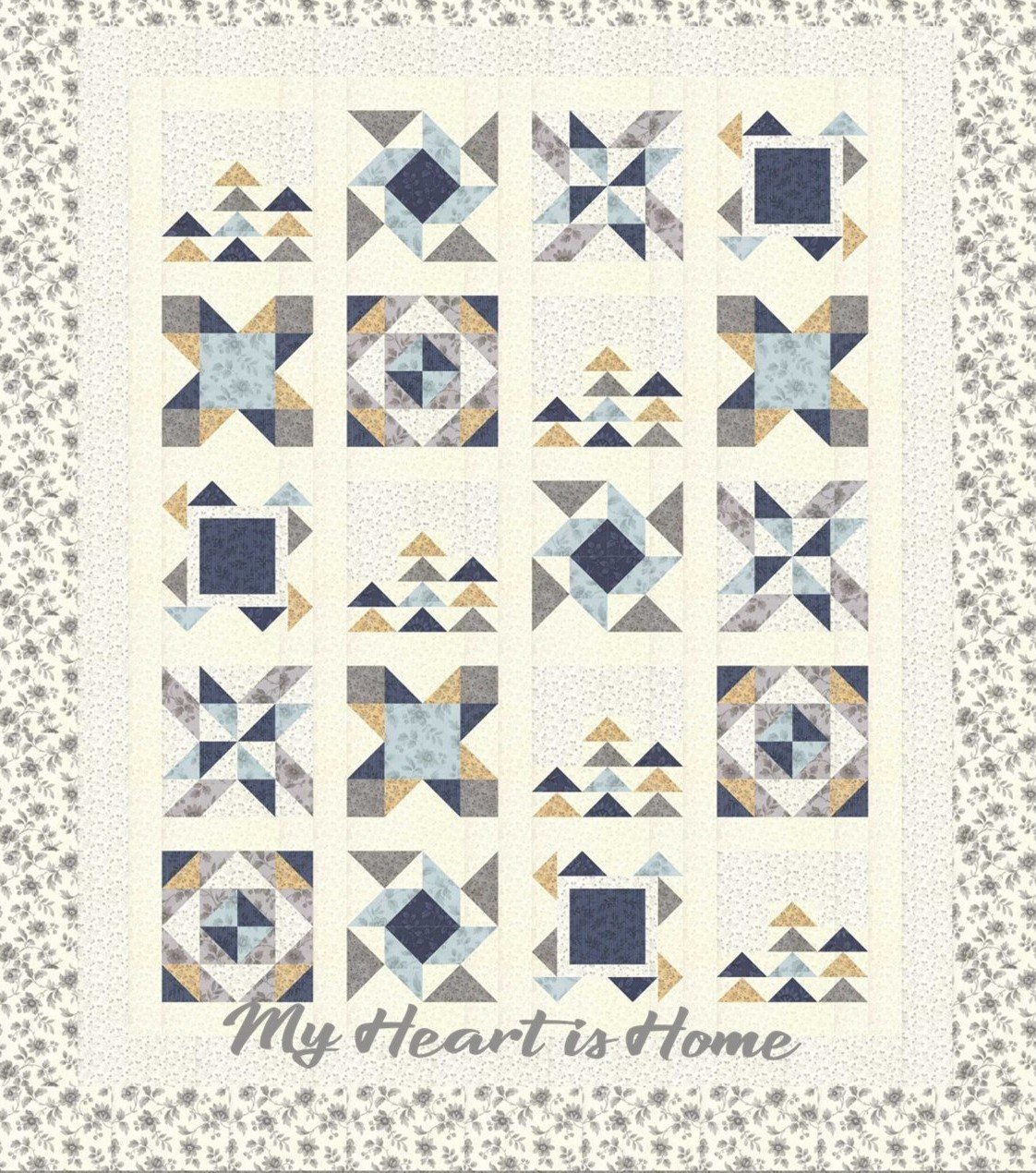 My Heart is Home Block of the Month