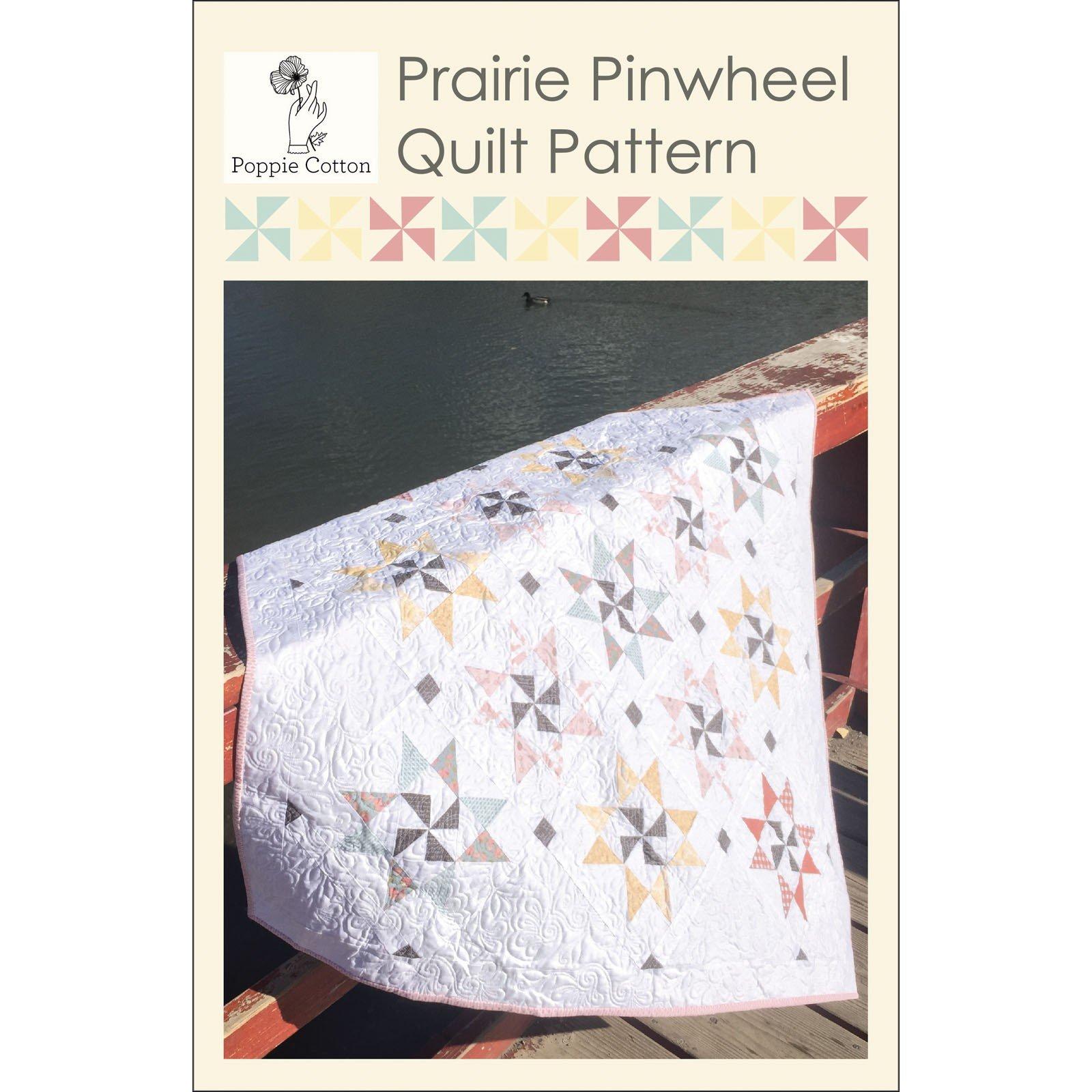 Prairie Pinwheel Quilt - PCN1903