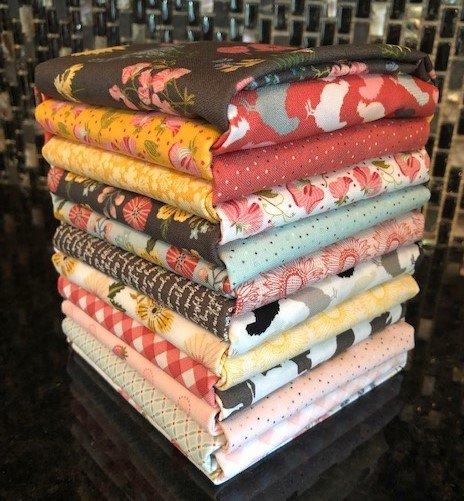 Prairie Sisters Fat Quarter Bundle by Poppie Cotton