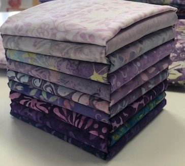 Java Batiks Purple Bundle