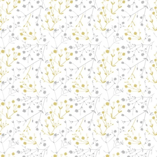 Sparkle and Fade by Hoffman Fabrics - White/Metallic 4469-3m