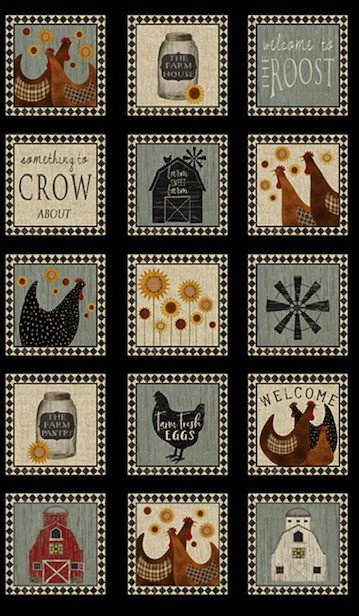 Roost Panel Squares