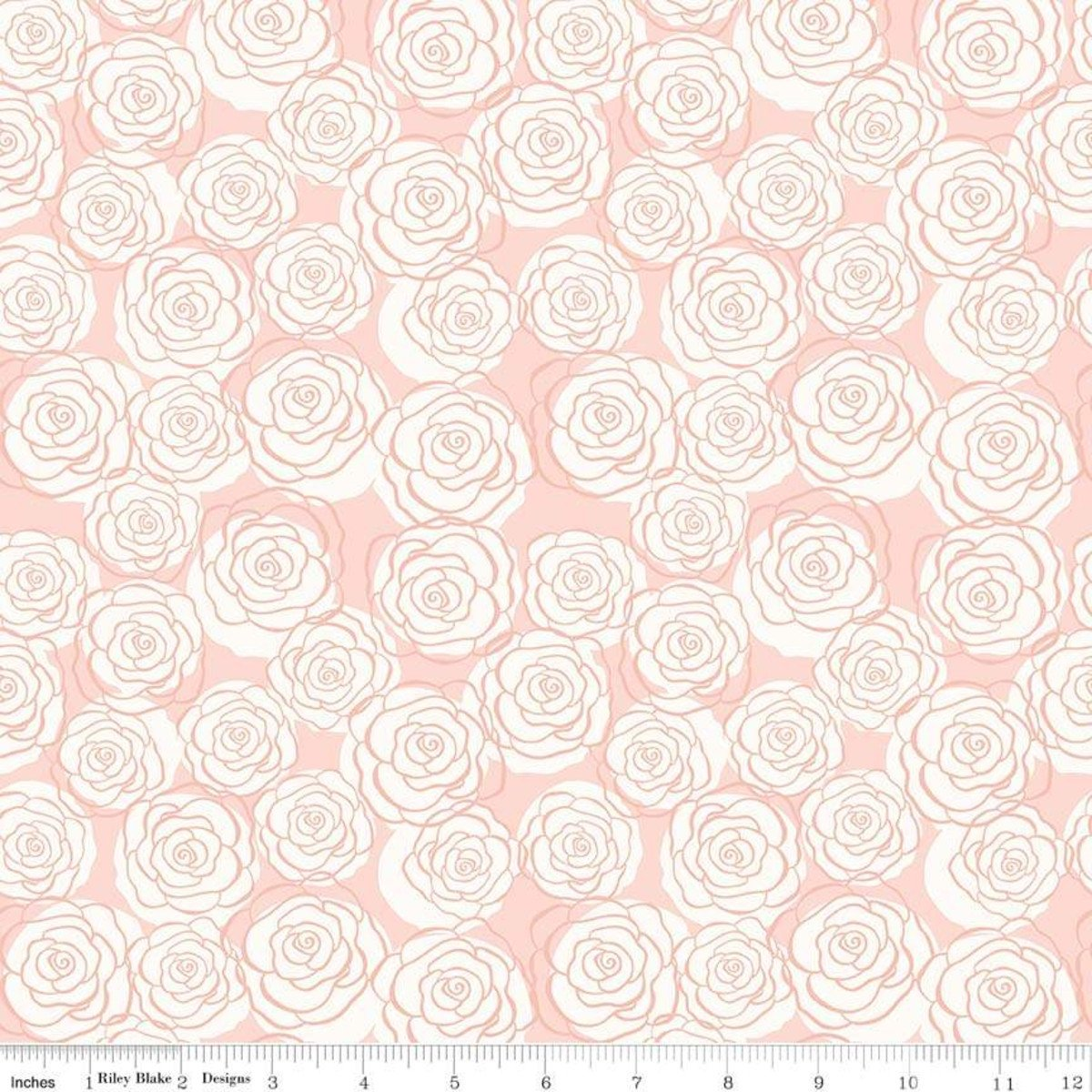 Bliss Roses Blush (Rose is Rose Gold Sparkle) - sc8162