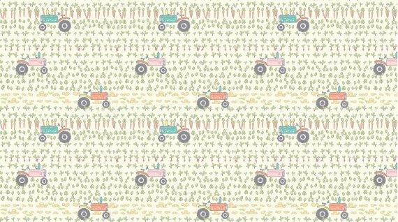 Deja Moo Flannel by Dear Stella -1025- Multi