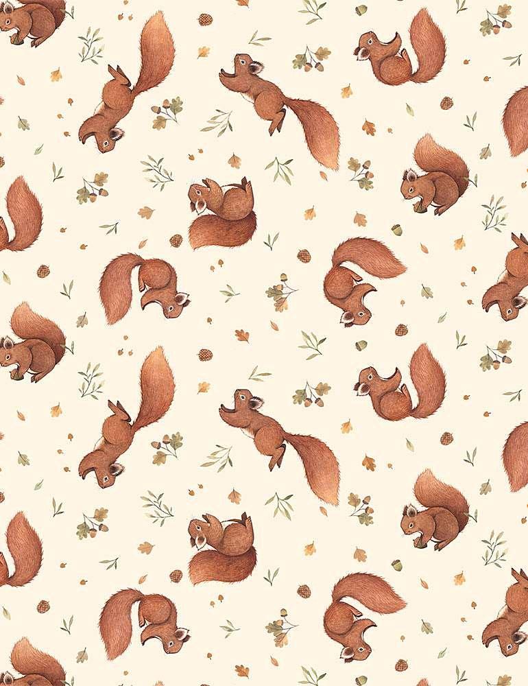 Little Fawn DP STELLA-DNS1907-CREAM Squirrels