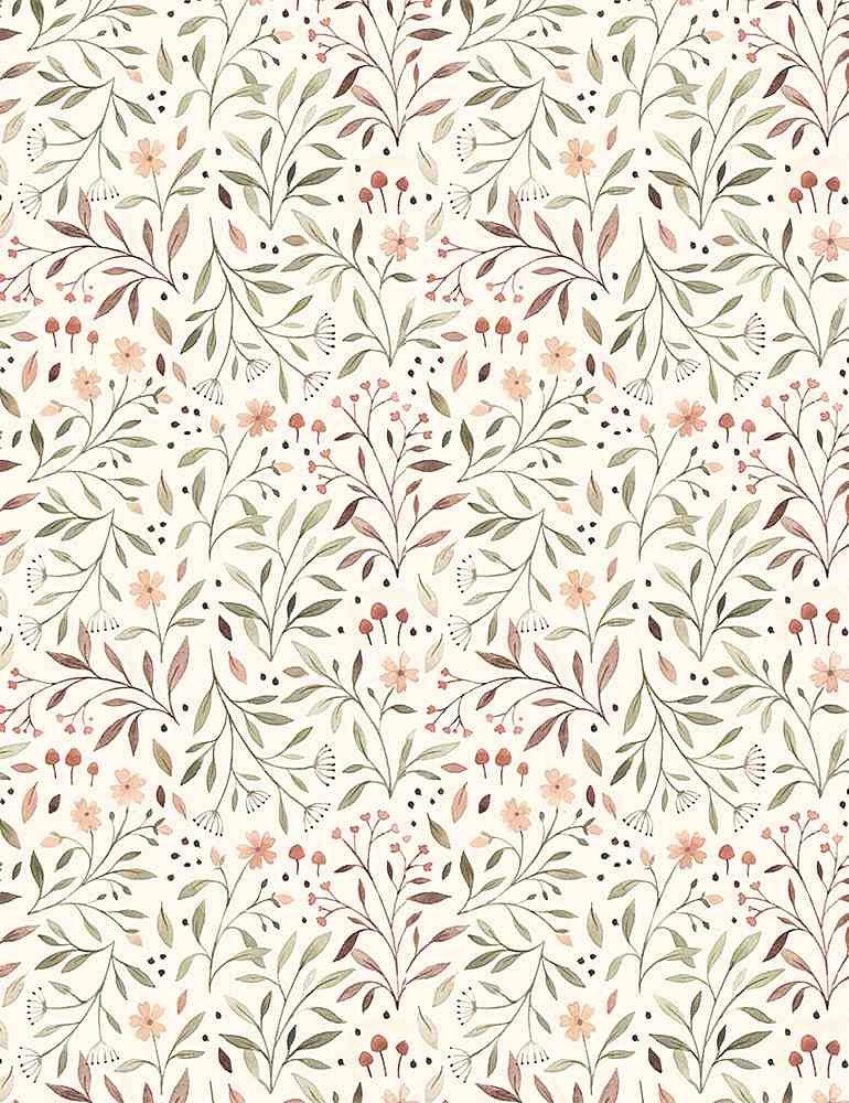 Little Fawn DP STELLA-DNS1910-CREAM Flora