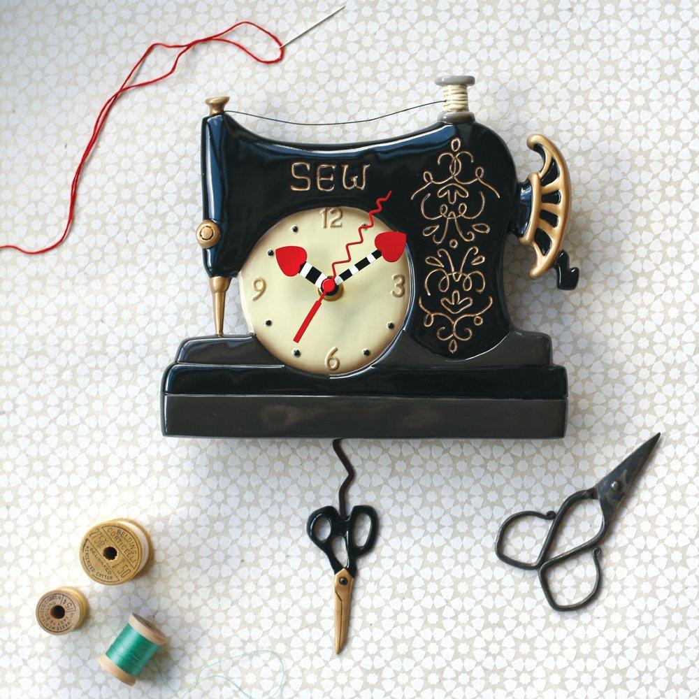 Clock - Vintage Stitch (Featherweight)