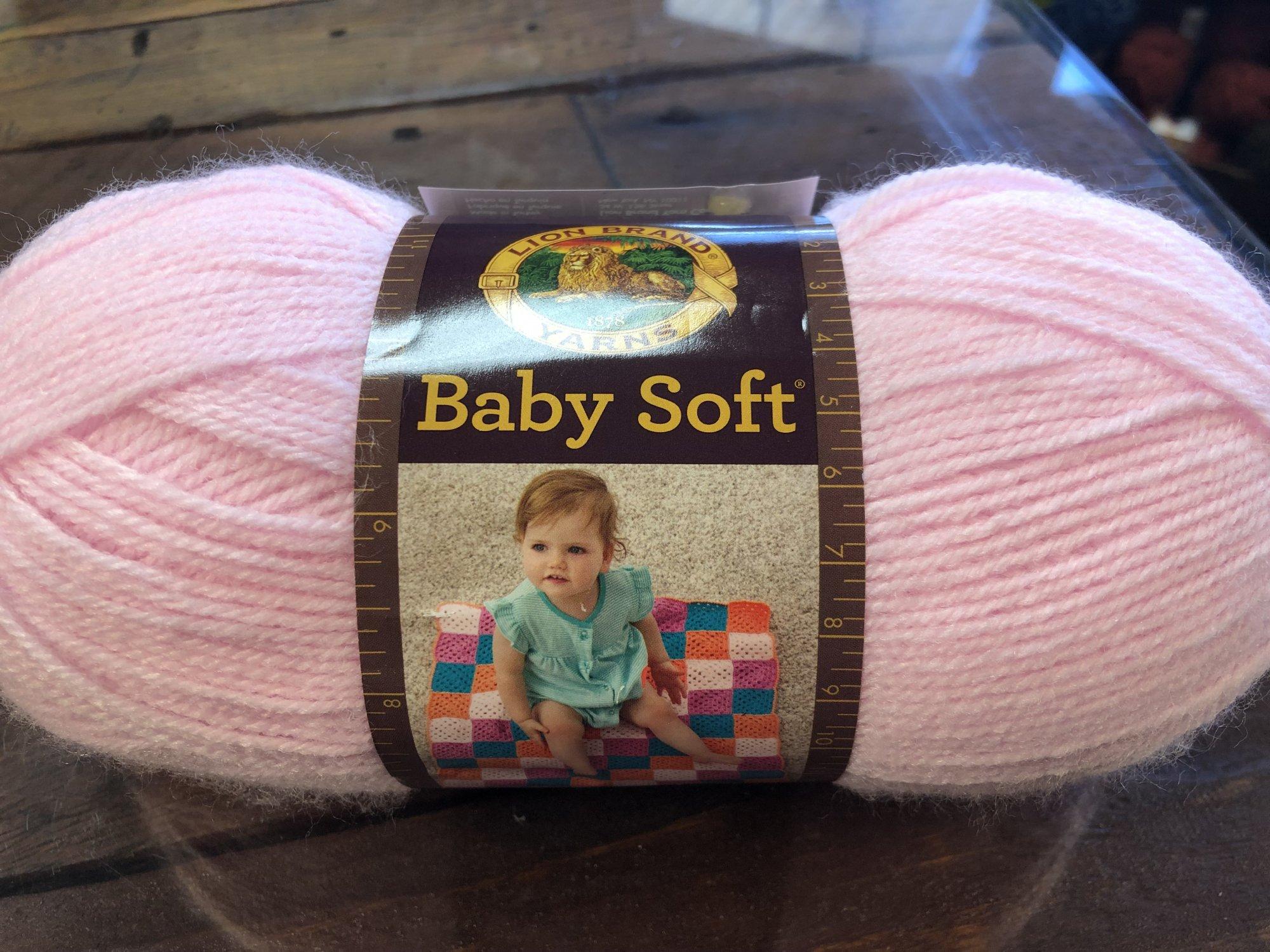 5oz Pastel Pink Baby Soft