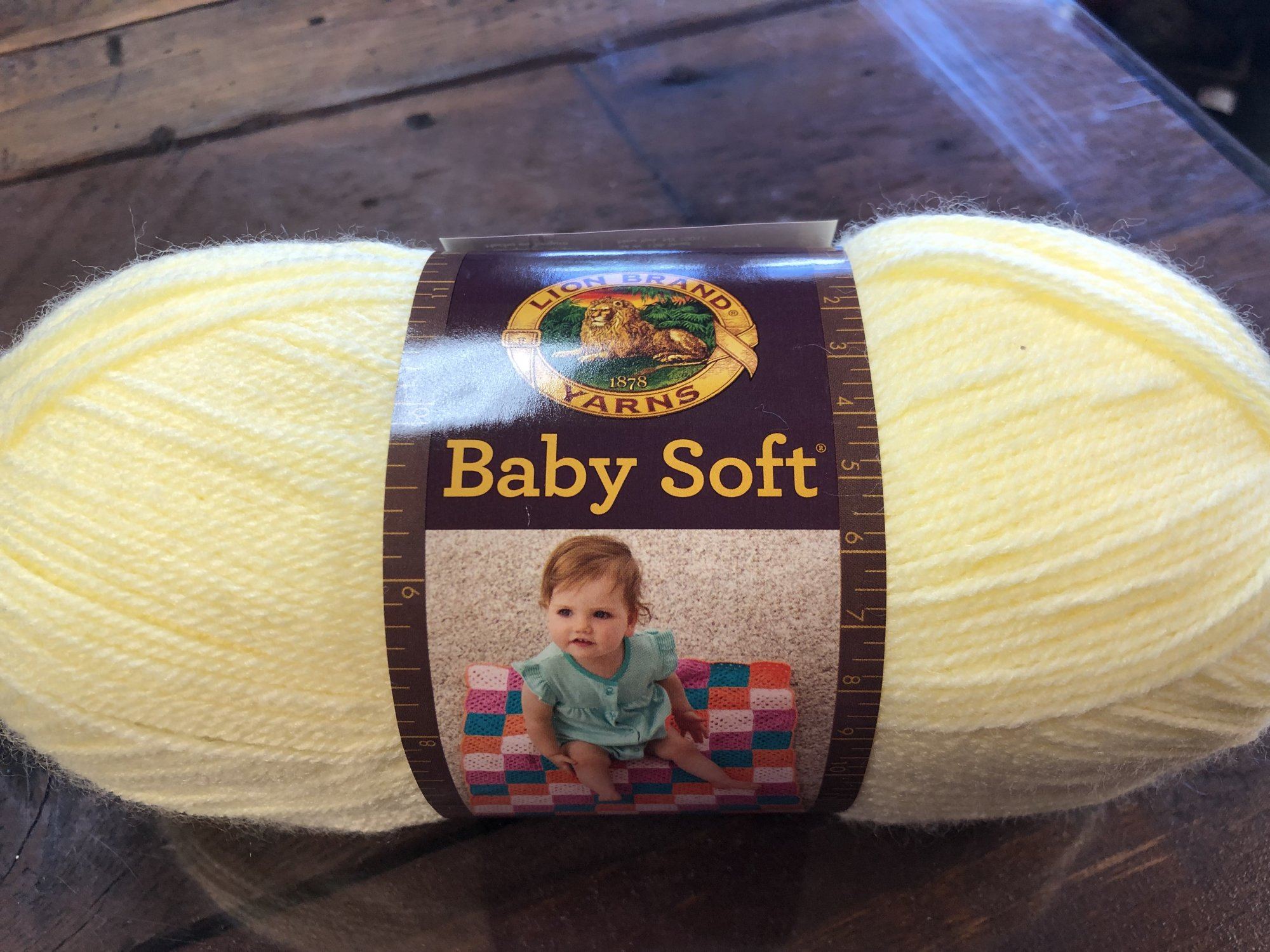 5oz Pastel Yellow Baby Soft