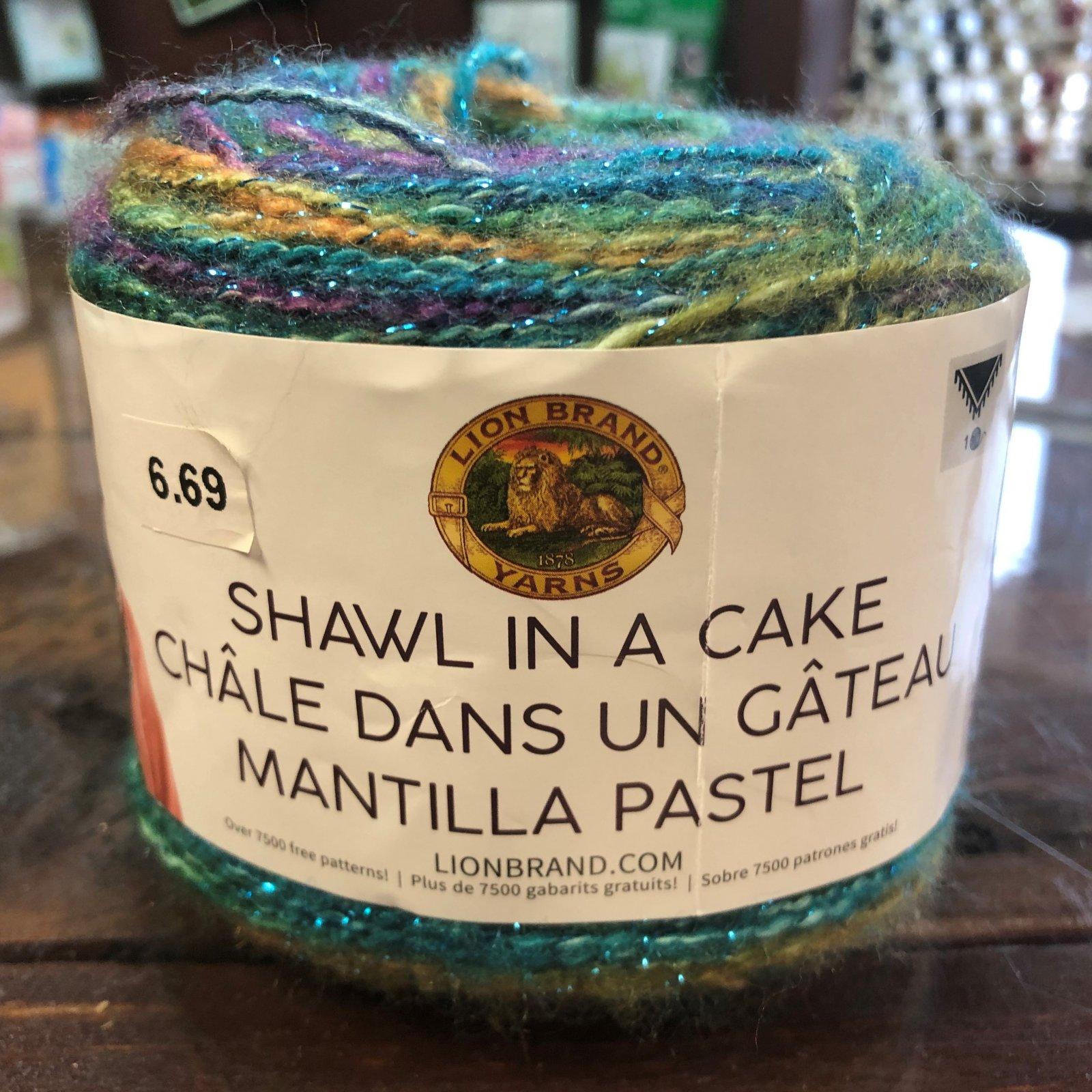 Prism Shawl Cake