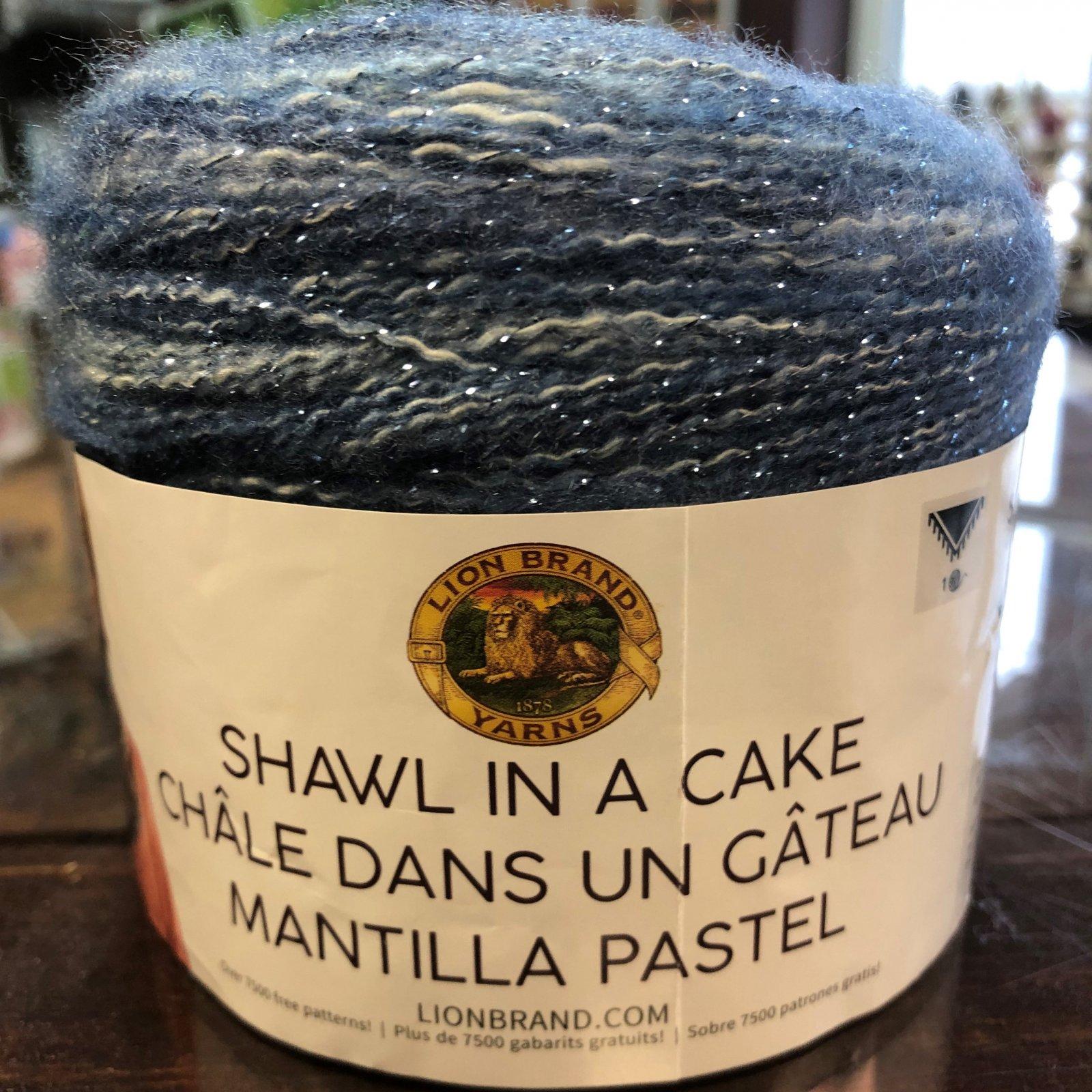 Wind Chimes Shawl Cake