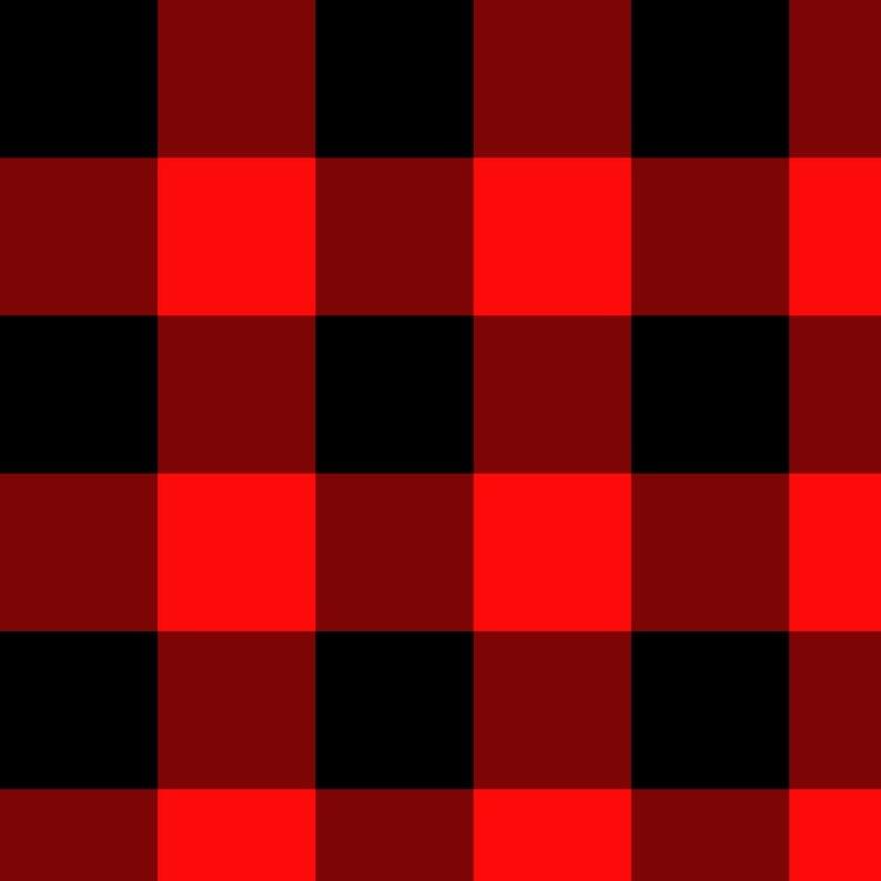 POLLY - BUFFALO RED PLAID