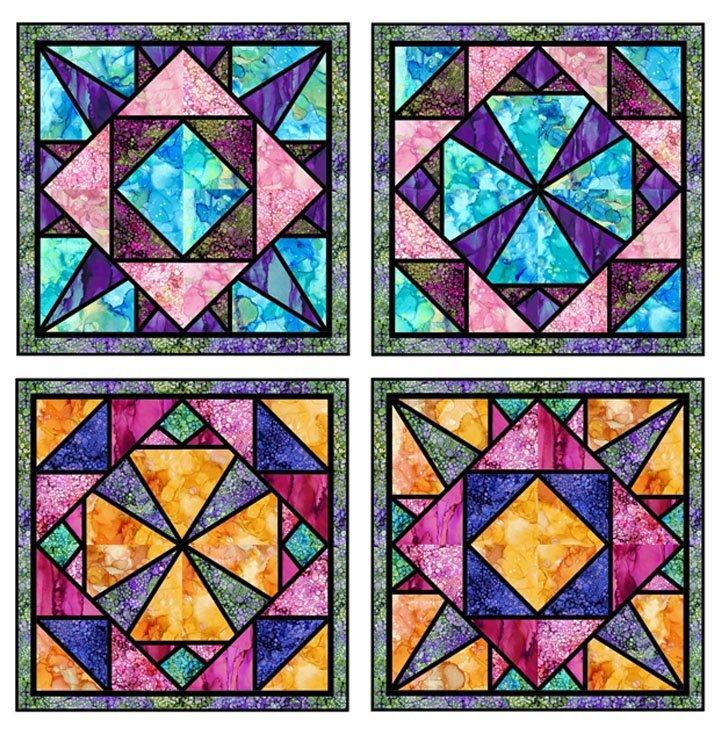 Jeweled Windows PTN2714