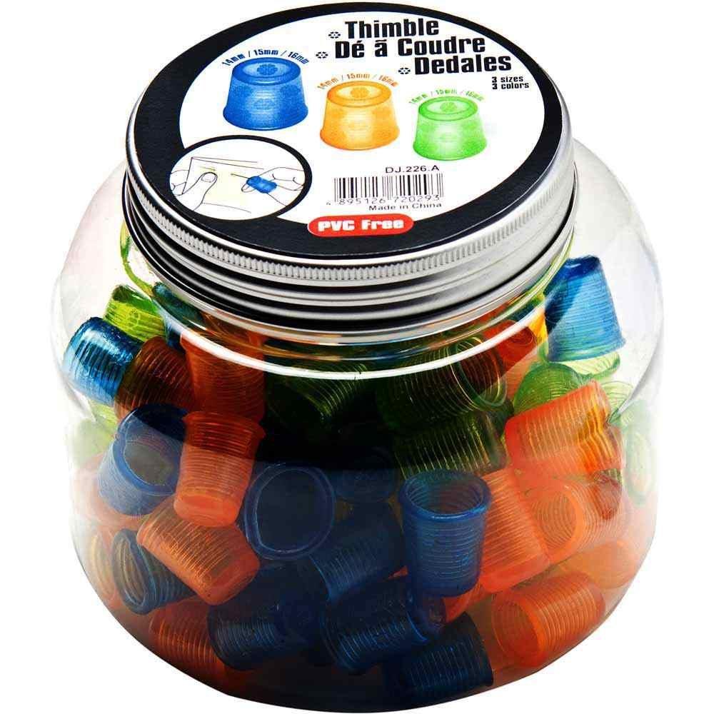 Flexible Thimbles in a Jar