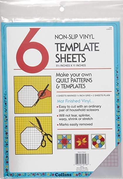 Template Sheet 2 x 4 grid