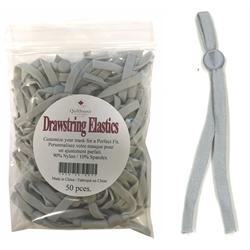 Grey Drawstring Elastics
