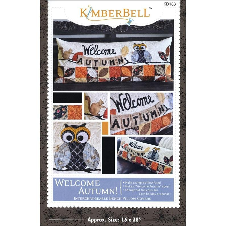 Kimberbell Welcome Autumn -  Sewing