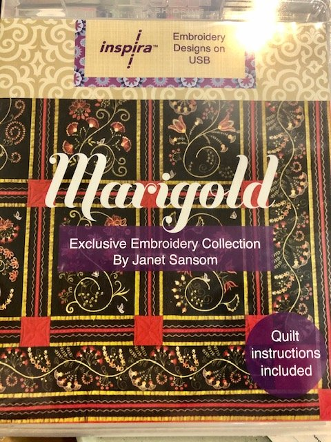 Marigold Embroidery Colleciton