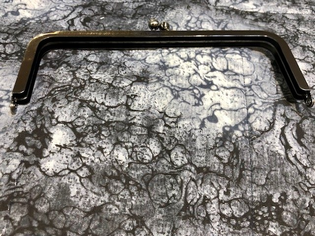 Modern Frame Purse Clasp (Metal)
