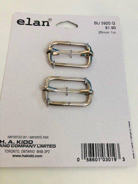 Elan Belt Slider 1 Silver