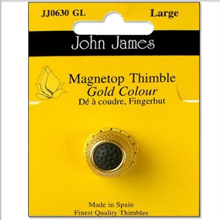 John James Magnetic Top - Silver - Lrg