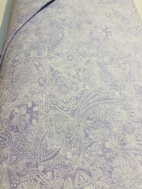Wide Backing Lavender Paisley 108