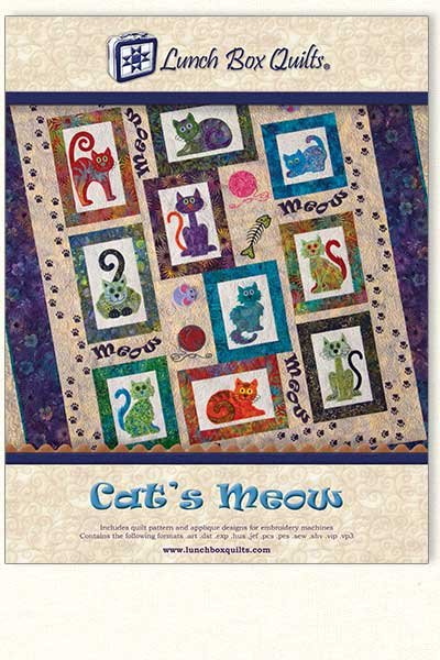 Cat's Meow - Lunch Box Quilts
