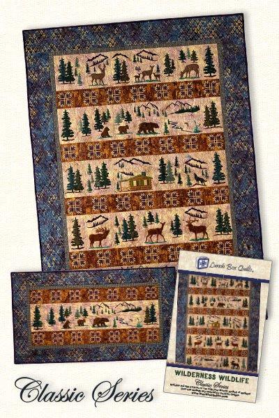 Lunch Box Quilts - Wilderness Wildlife