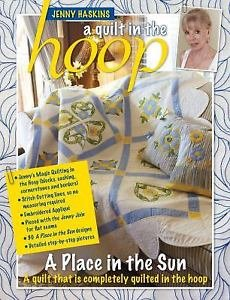 A Place in the Sun - a quilt in the hoop