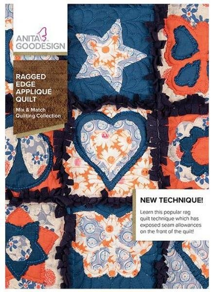 AGD- Ragged Edge Applique Quilt