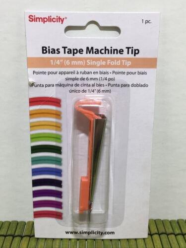Bias Tape Maker Tip - 1/4in