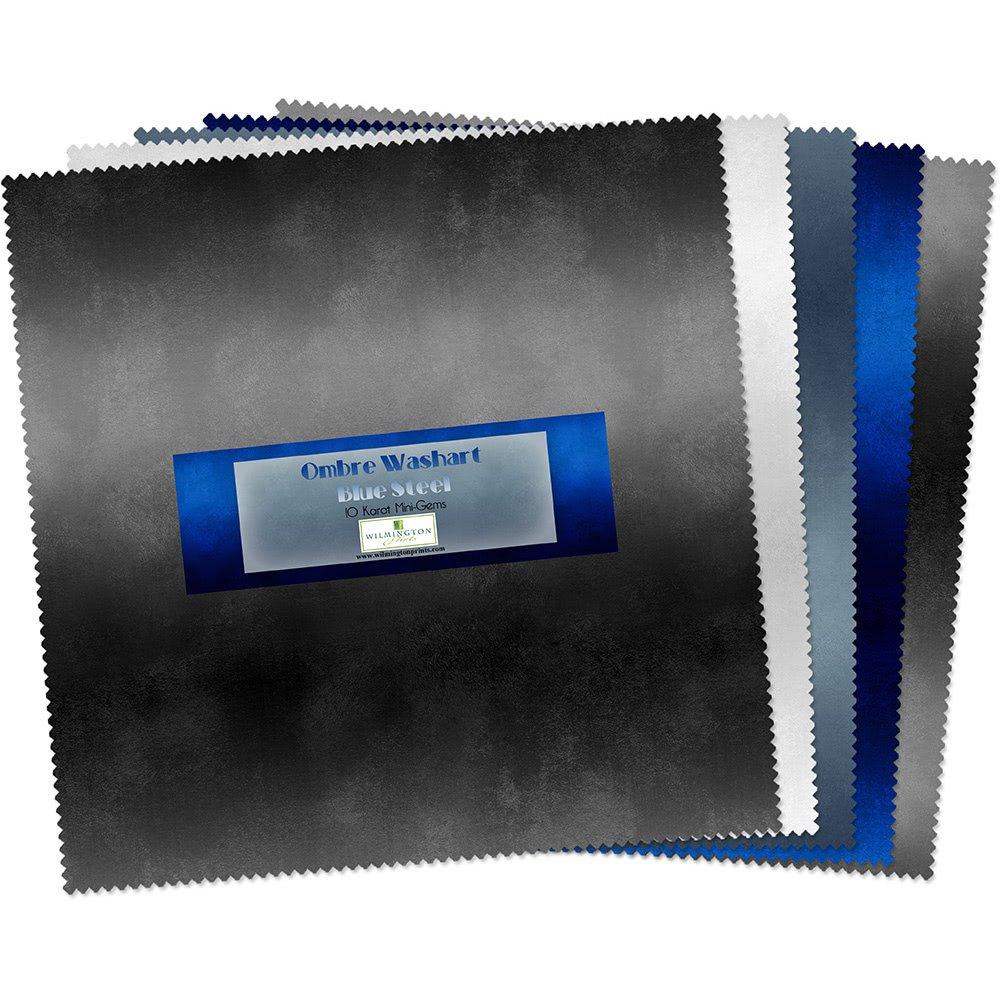 Wilmington 10 Kt mini-gems Ombre Washart Blue Steel